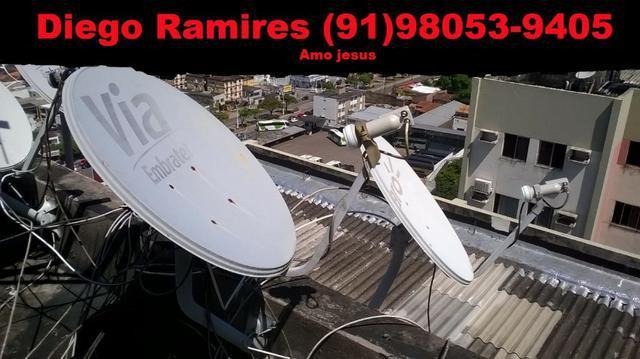 Só antenas reparos técnicos