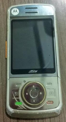 Slide com flex e lcd nextel i856 branco (não é celular)