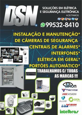Soluções em elétrica e segurança eletrônica