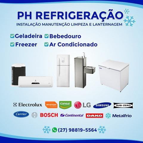 Tecnico em geladeira ar condicionado freezer maquina de