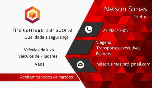 Transporte executivo, uber, 99 carro de 7 lugares