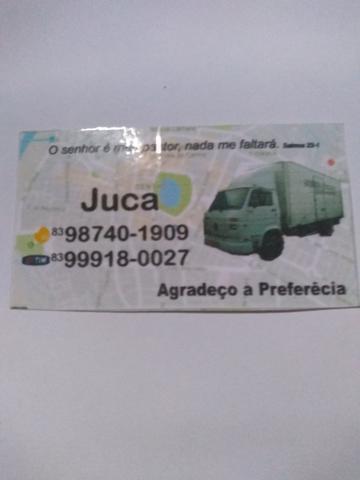 Transporte e mudança aceito cartão