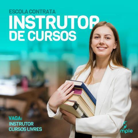 Vagas para instrutor de cursos