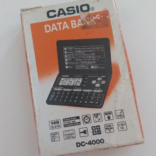 Agenda eletrônica casio anos 90