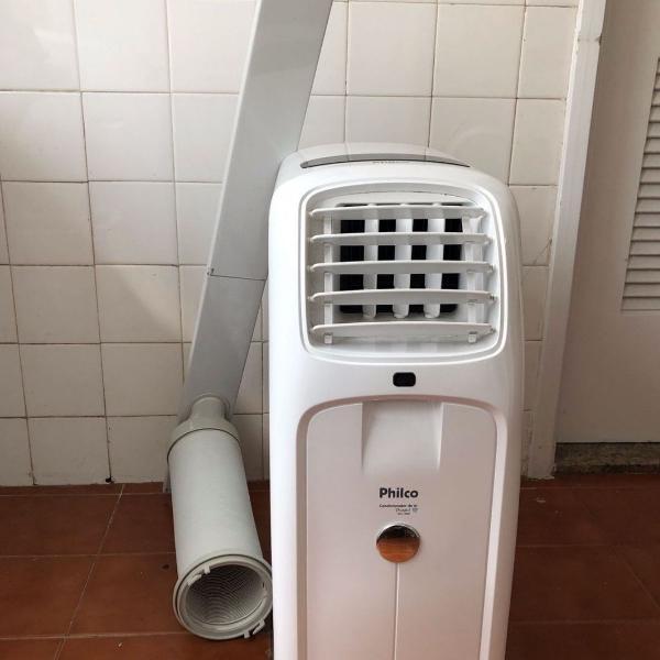 Ar condicionado portátil com régua