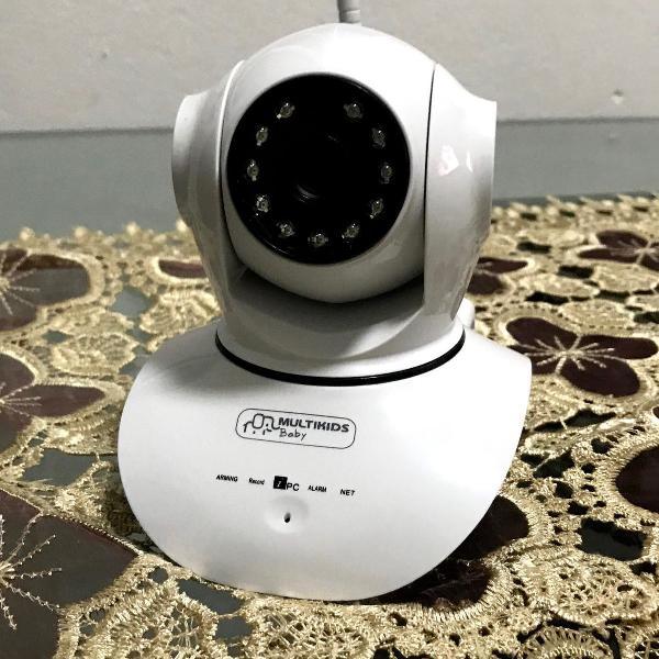 Baba eletrônica multikids wi-fi com visão noturna