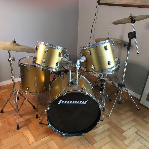 Bateria ludwig accent cs combo