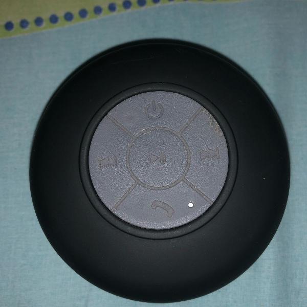 Caixa de som bluetooth para banheiro