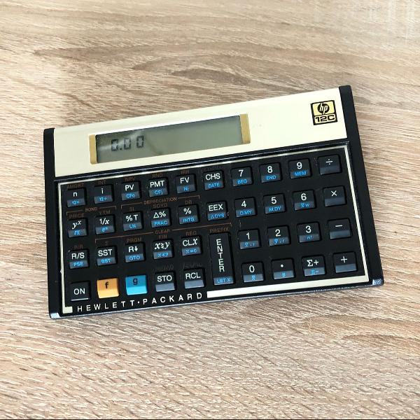 Calculadora hp12c gold