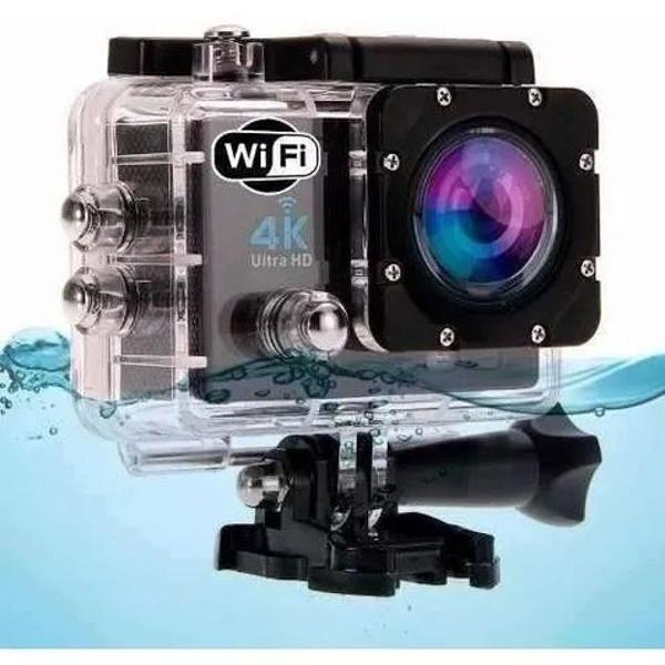 Camera de acao h9 ultra hd 4k wi-fi 170 graus tela lcd de 2