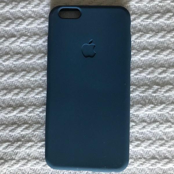 Capinha silicone para iphone 6 plus