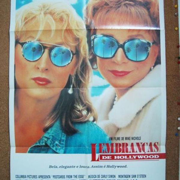 Cartaz original de cinema do filme lembranças de hollywood