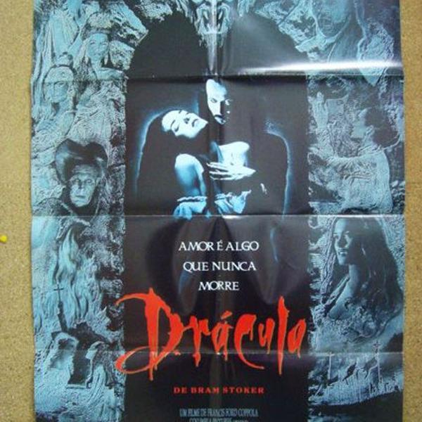 Cartazes de cinema originais do filme dracula, de bram