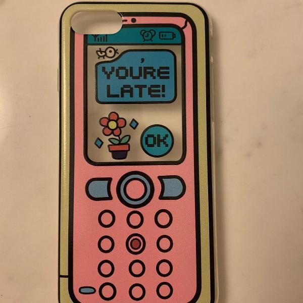 Case iphone 7/8 (capinha) celular antigo