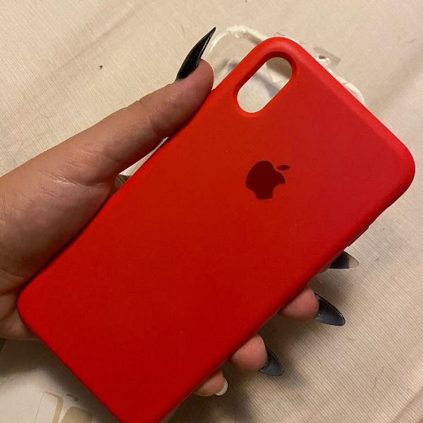 Case silicone iphone xs max