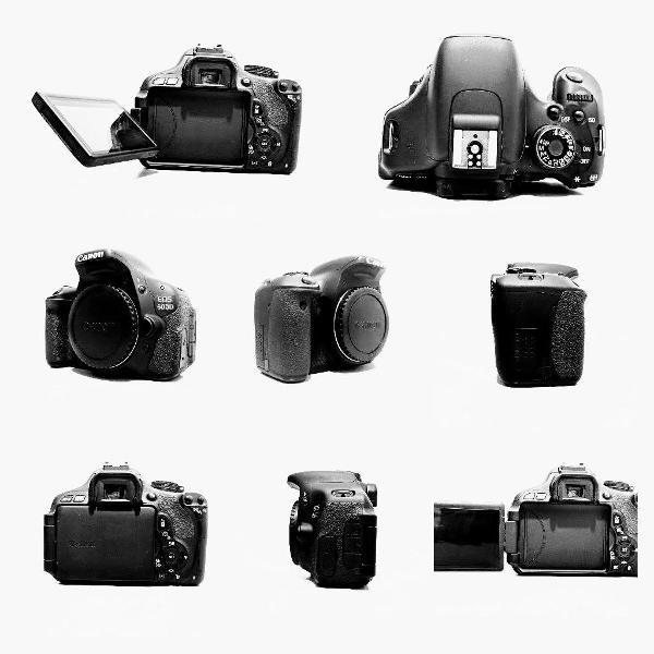 Câmera semi profissional eos 600d ( rebel t3i ) - corpo