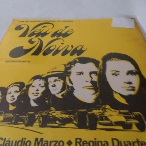 Disco de vinil novela véu de noiva, lp novela globo