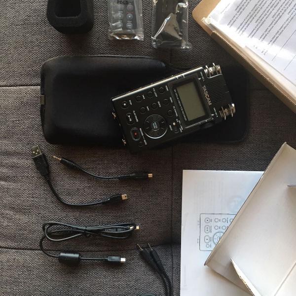 Gravador profissional tascam dr-100 mk 3 digital