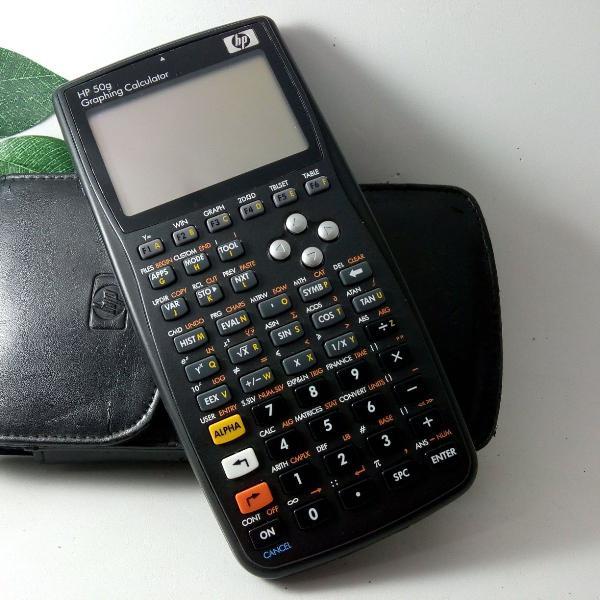 Hp 50g calculadora gráfica +case+sd2g