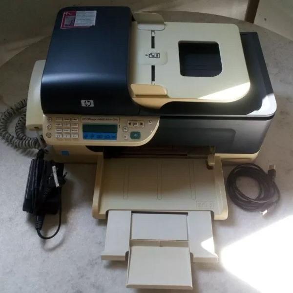 Impressora multifuncional hp officejet j4660 scanner e fax