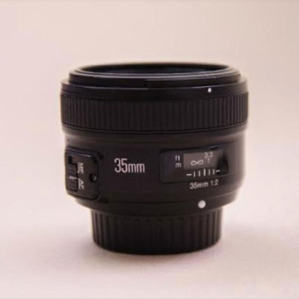 Lente objetiva yongnuo 35mm canon