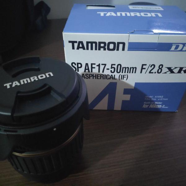 Lente tamron af 17-50mm f/2.8 xr di (praticamente nova)