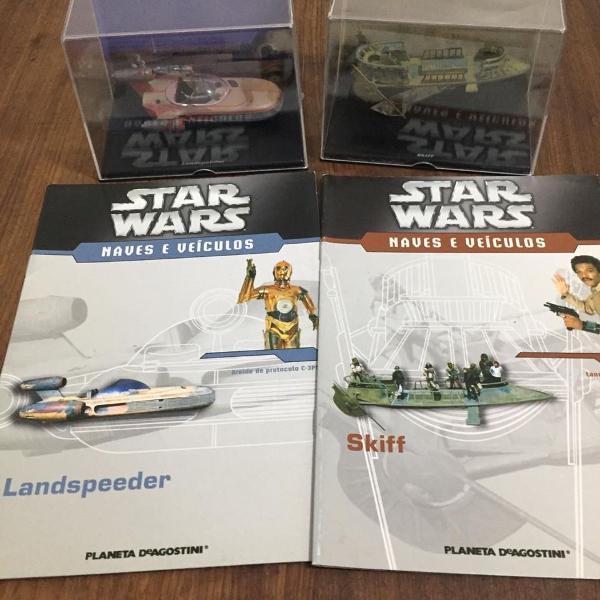 Mais uma dupla naves e veículos star wars