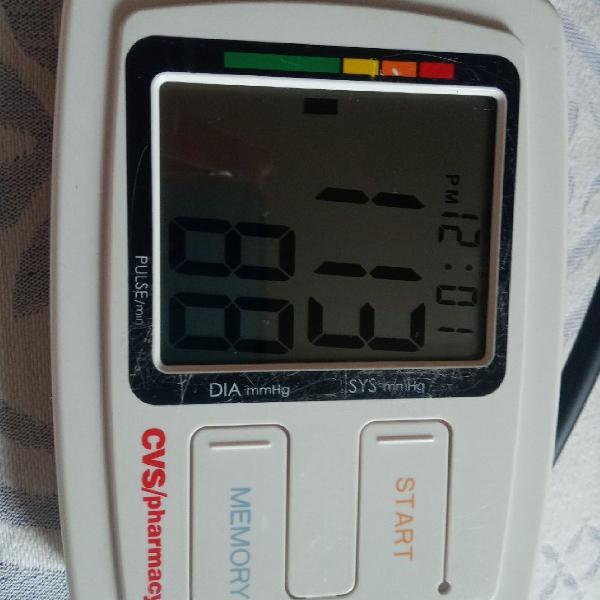 Medidor de pressao arterial digital cvs