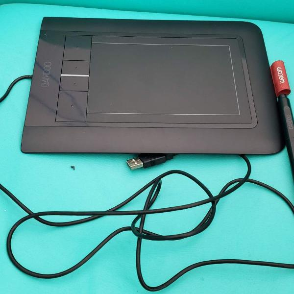 Mesa digitalizadora bamboo pen & touch. cth-460. usada!
