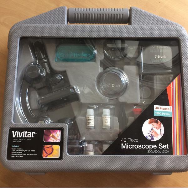 Microscópio semi profissional vivitar