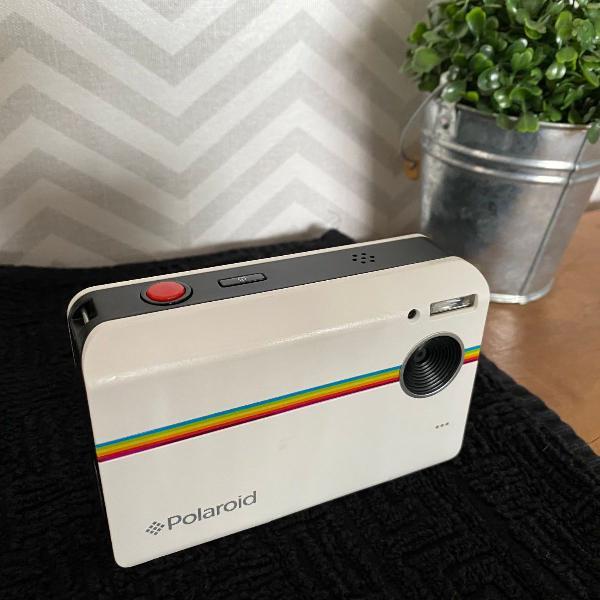máquina fotográfica retro polaroid