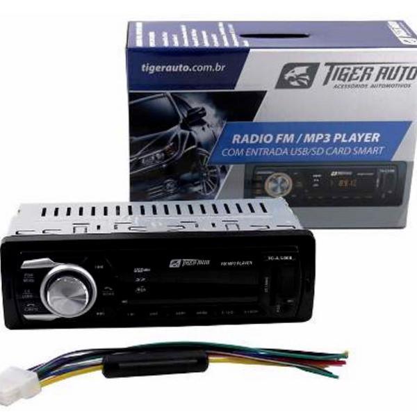 Rádio carro bluetooth mp3 player usb sd aux som automotivo