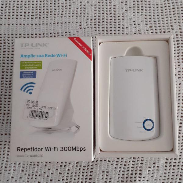 Repetidor de sinal wi fi marca tp- link