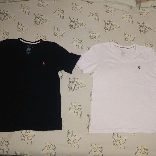 2 camisetas sérgio k pouco uso tamanho xl slim fit as duas