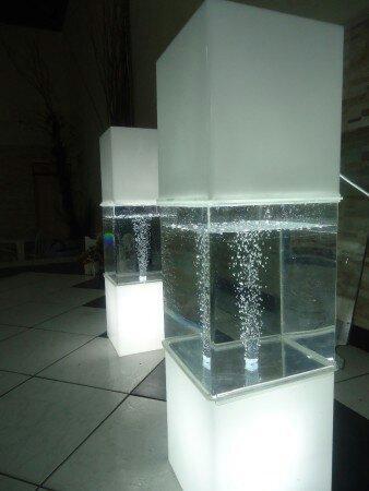 Coluna modelo aquário