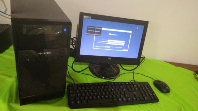Computador core i3 completo ssd 120 gb e wifi