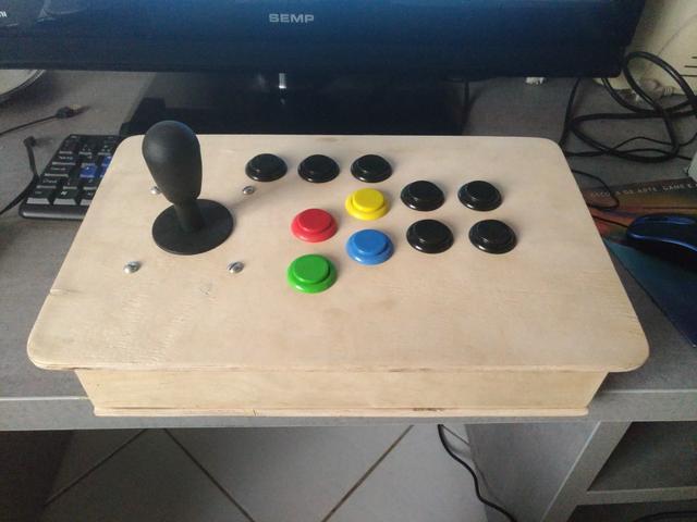 Controle arcade s/ placa
