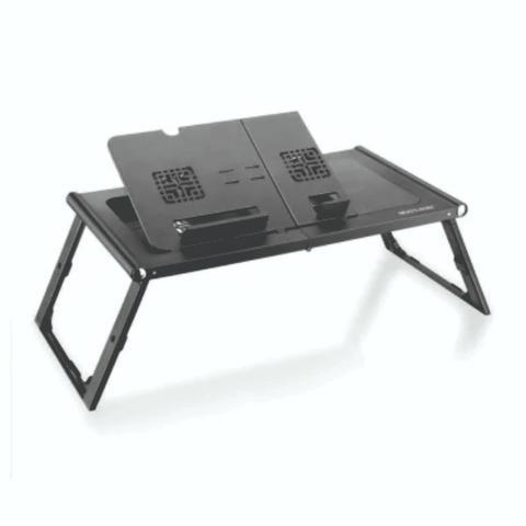 Mesa portátil notebook c/ mouse pad e 2 coller usb ?