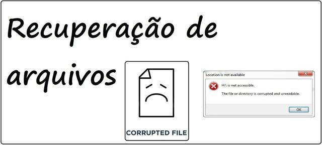 Recuperação de arquivos