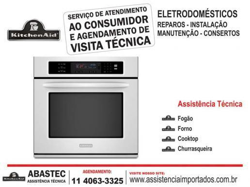 Serviços de assistência técnica kitchenaid