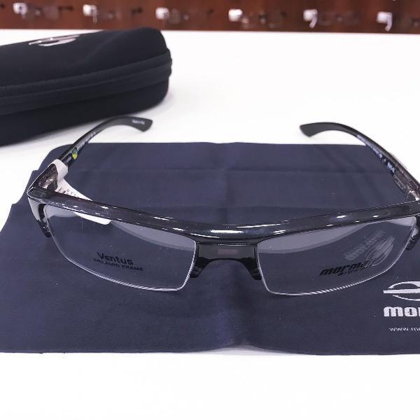 Armação óculos mormaii 1270 417 acetato preto masculino