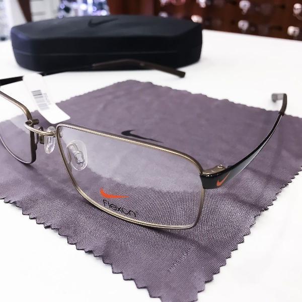 Armação óculos nike 4193 256 metal masculino original