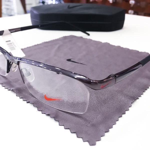 Armação óculos nike 6020 001 titanium masculino original