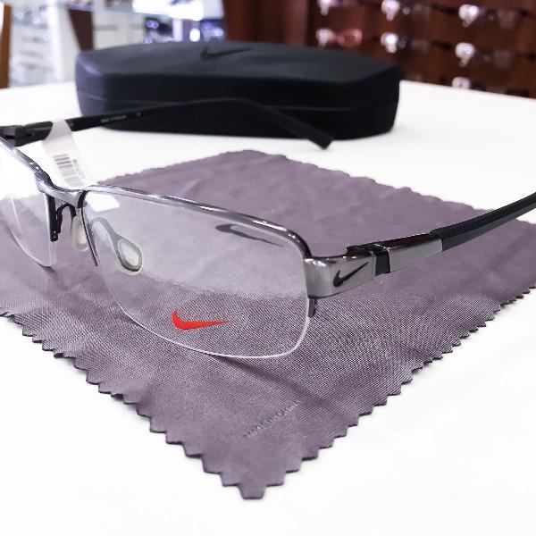 Armação óculos nike 6051 066 titanium masculino original
