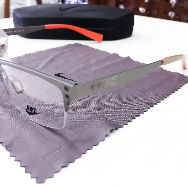 Armação óculos nike 8203 065 metal masculino original