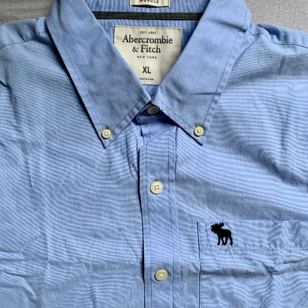 Camisa abercrombie - tamanho g - original