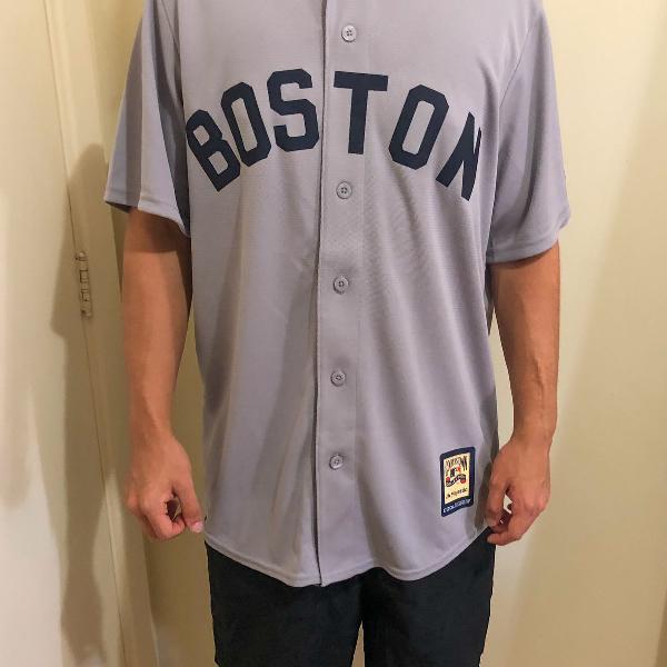 Camisa boston liga mlb