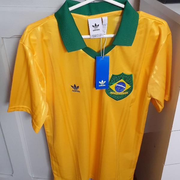 Camisa brasil adidas nova original