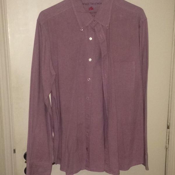 Camisa brim richards lilás