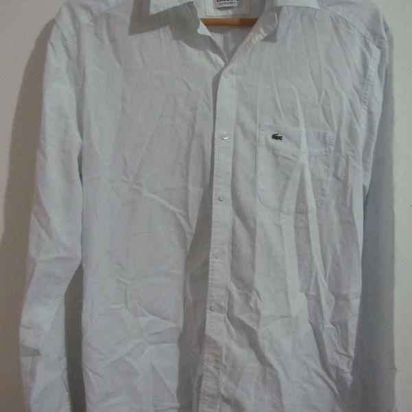 Camisa social lacoste